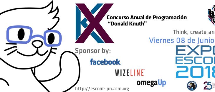 X Concurso Anual de Programación «Donald Knuth»